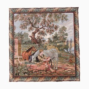 Vintage French Tapestry, 1940s