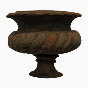 Vintage Eisen Urne, 1950er, 2er Set