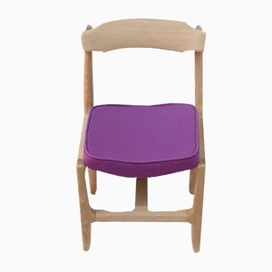 Véronique Dining Chairs by Guillerme & Chambron for Votre Maison, 1960s, Set of 6