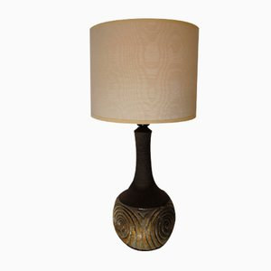 German Ceramic Table Lamp, 1970s