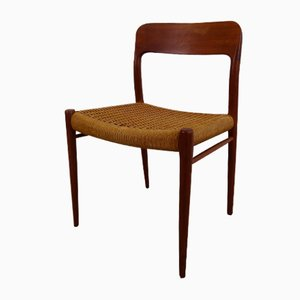 Mid-Century Model 77 Chairs by Niels O. Møller for J.L. Møllers, 1950s, Set of 2