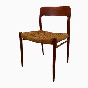 Mid-Century Modell 77 Stühle von Niels O. Møller für JL Møllers, 1950er, 2er Set