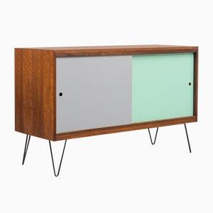 Mid-Century Walnuss Sideboard, 1960er