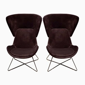 Moel AVI-04 Armchairs by Phil Hallet for Orangebox, 2000s, Set of 2