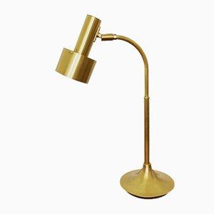 Messing Tischlampe, 1960er