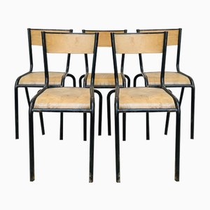Mid-Century French Dining Chair from Mullca, 1950s