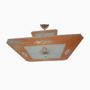 Lampada da soffitto Art Deco vintage