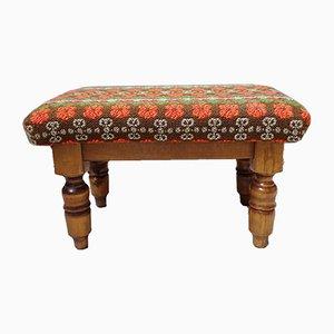 German Upholstered Ottoman, 1970s