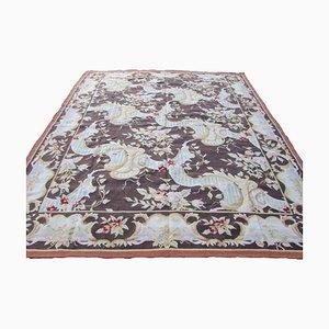 Französischer Vintage Aubusson Teppich, 1980er