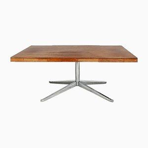 Palisander & Stahl Schreibtisch von Florence Knoll Bassett für Knoll Inc. / Knoll International, 1960er