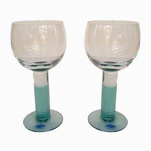 Vintage Wine Glasses by Kerrtu Nurminen for Nuurtajärvi, Set of 4