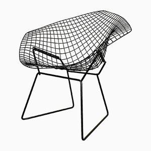 Schwarzer Diamond Stuhl von Harry Bertoia für Knoll Inc. / Knoll International, 1980er
