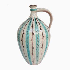 Vintage Keramikvase von Wilhelm Kagel, 1960er