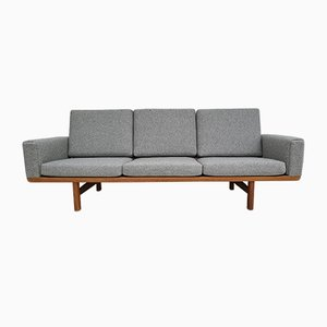 Oak and Wool Model GE236 Sofa by Hans J. Wegner for Getama, 1970s