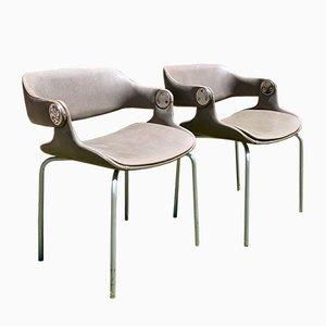 Beistellstühle von Eugen Schmidt, 1960er, 2er Set