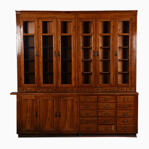 Apothecary Display Cabinet, 1920s