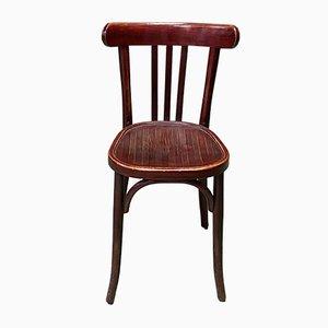 Bistro Stuhl aus Holz, 1930er