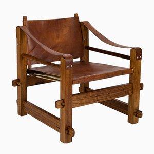 Brutalistischer Safari Stuhl, 1960er