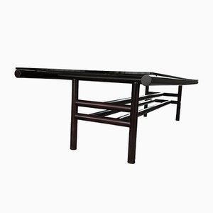 Wengé Wood Gritti Dining Table by Carlo Scarpa for Simon Gavina, 1970s