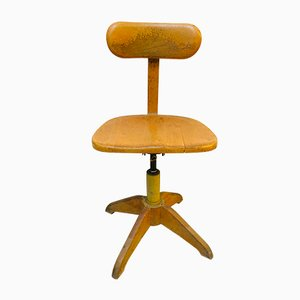 School Swivel Chair by Albert Stoll for Stoll Giroflex, 1950s