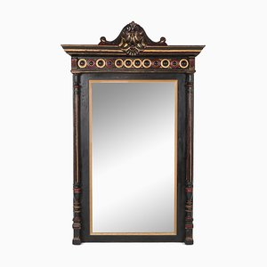 Antique Regency Style Hand-Carved Overmantle Mirror