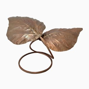 Vintage Leaves Table Lamp from Tommaso Barbi
