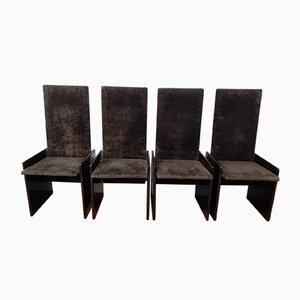 Mid-Century Esszimmerstühle von Kazuhide Takahama für Gavina, 4er Set