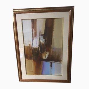 Still Life Oil on Canvas by Franco Cavicchioni, 1970s