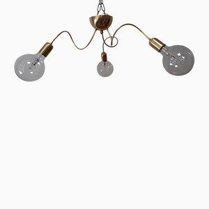 Vintage 3-Arm Ceiling Lamp