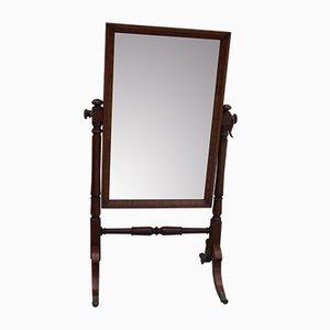 Mahogany Cheval Mirror, 1850s