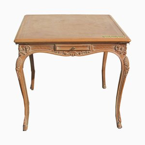 Louis XV Style Oak Game Table, 1970s