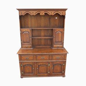 Large Oak Dresser with Fielded Panels, 1960s