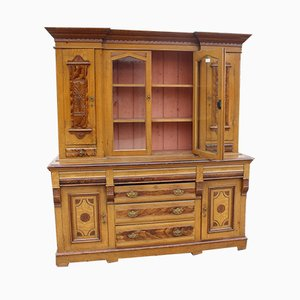 Large Antique Pinewood Dresser, 1900s