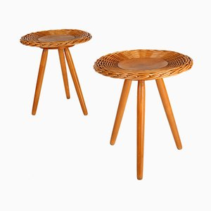 Mid-Century Stools from Uluv, 1970s, Set of 2