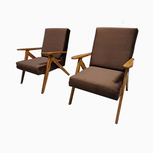 Lounge Chairs from Zakłady Mebli Giętych Radomsko, 1960s, Set of 2
