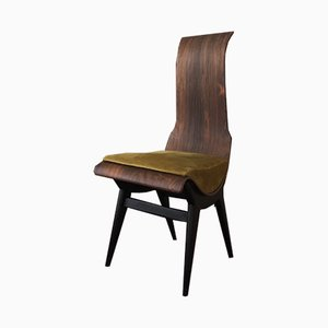 Rosewood Dining Chair by Pozzi e Verga, 1950s