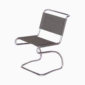 Club chair Bauhaus modello H79 vintage di Jindřich Halabala per UP Závody, anni '30
