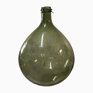 Antique Blown Glass Demijohn