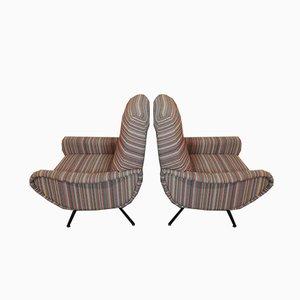 Mid-Century Sessel von Marco Zanuso für Arflex, 2er Set