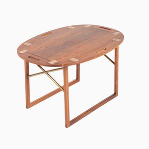 Mid-Century Danish Rosewood Side Table by Svend Langkilde for Langkilde, 1960s