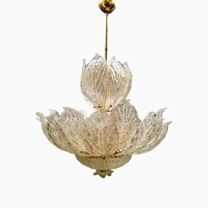 Large Murano Glass Chandelier from Murano, 1970s