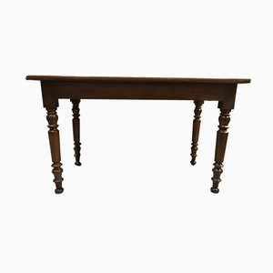 Louis Philippe Walnut Bistro Table