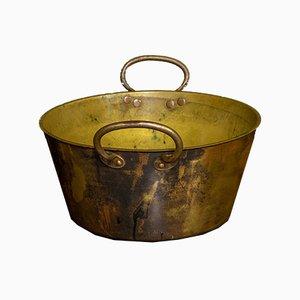Victorian Brass Jam Pan