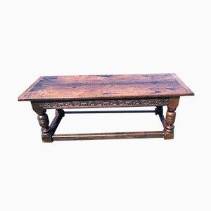 Tavolo da refettorio in quercia, XVII secolo