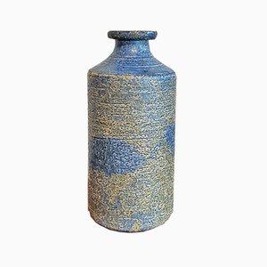 Jarrón botella Chamotte alto, años 70
