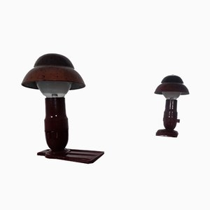 Art Deco Bakelite Table Lamps from Hergil, 1940s, Set of 2