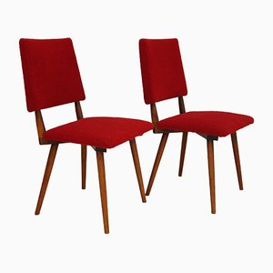 Art Deco Armchairs, 1960s, Set of 2