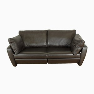 Leather Sesame Sofa from FSM