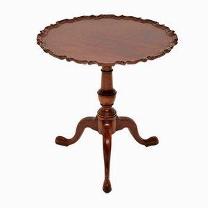 Georgian Style Mahogany Tilt-Top Table, 1950s