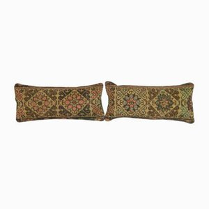 Turkish Rug Cushion Covers, Set of 2
